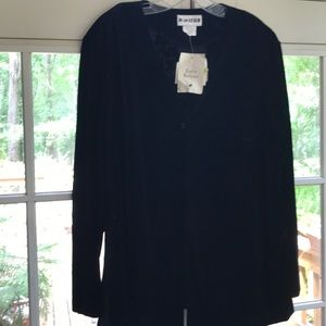 Joan Leslie two piece set jacket and skirt size 18